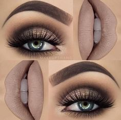 Hottest Eye Makeup Looks – Makeup Trends Gorgeous! Gold and Brown Glittery Style with False Lashes. 10 Hottest Eye Makeup Looks – Makeup TrendsGorgeous! Gold and Brown Glittery Style with False Lashes. 10 Hottest Eye Makeup Looks – Makeup Trends Makeup Trends, Makeup Hacks, Makeup Ideas, Makeup Tutorials, Makeup Inspo, Makeup Style, Makeup Kit, Makeup Geek, Eyeshadow Tutorials