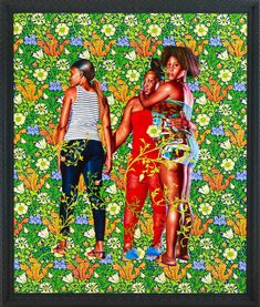 Kehinde Wiley — The World Stage: Jamaica http://www.weheart.co.uk/2013/11/07/kehinde-wiley-the-world-stage-jamaica/