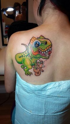 58 Most Inspiring T Rex Tattoos Images Drawings
