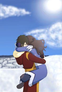 I ship them ♥ Zutara! I'm sorry Aang ❤️I love zutara♥