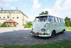 Wedding Car Hire Great Dunmow | The White Van Wedding Company Wedding Car Hire, Wedding Company, White Vans, Vw Camper, Car Ins, Glamping, Travel, Viajes, Go Glamping