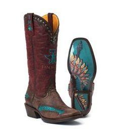 Tin Haul Ladies Arrowpoint Square Toe Boots - Horse.com