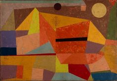 Paul Klee, Clear mountain landscape, 1929