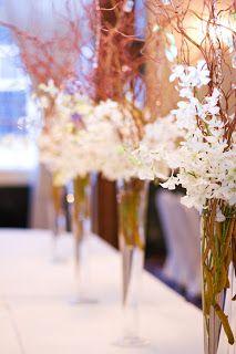 dendrobrium orchid centerpieces