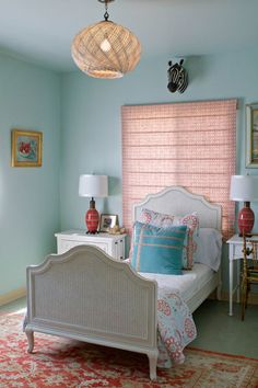 pale robins egg blue for walls -- swimming by Sherwin-Williams