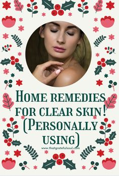 Best and easy home remedies for glowing skin naturally at home!! ( I'm using all for my skin)