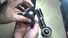 DIY How to make a lightsaber hilt from a flashlight