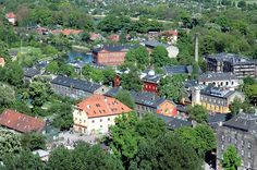 View of Freetown Christiania, Copenhagen, Denmark