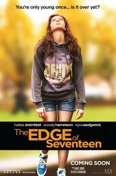 THE EDGE OF SEVENTEEN Movie Poster via @seat42f