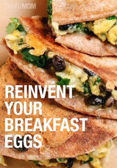 Get creative with your eggs and try one of these low cal, healthy egg recipes for breakfast!