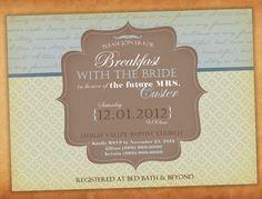 Black Damask The Future Mrs Printable Bridal by elegantprints, $14.99