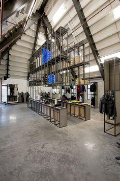 Precinct 5 concept store by Kuub, Amsterdam