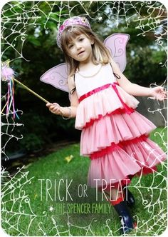 Tiny Prints - Halloween Photo Cards - such a cute photo and the tangled web on the front and the back of this card adds the perfect spooky element.