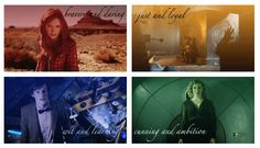 Doctor, Amy, Rory, and River sorted into houses. #harrypotter #doctorwho