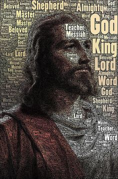 Jesus is . Many Names of Christ w portrait Faith belief Christian words favorite character Religion, Christian Faith, Christian Quotes, A Course In Miracles, Jesus Pictures, Pics Of Jesus, Jesus Is Lord, King Jesus, Son Of God