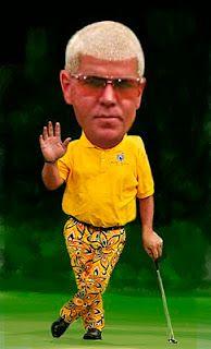 edward brooks celebrities, caricature, portrait and sports illustration Famous Celebrities, Celebs, John Daly, Funny Caricatures, Golf Party, Sports Stars, Golfers, Bobble Head, Arkansas