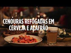 Cenouras Refogadas em Cerveja e Açafrão | Apetite para as Festas #05