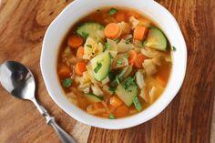 Garden Vegetable Soup Recipe - Low-cholesterol.Food.com
