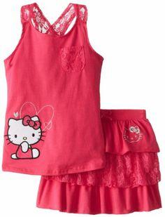 Hello Kitty Girls 7-16 Tank and Tiered Skirt Set, Fuchsia Purple, 7 Hello Kitty,http://www.amazon.com/dp/B00H7U0OXO/ref=cm_sw_r_pi_dp_Ybhvtb17SN39SKZD
