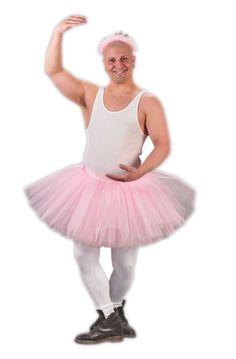 Tu Tu Grande Costume for Adults | Mens Pink Tutu