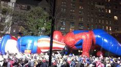 IMJ Pic of The Day: Awkward Moment for Thanksgiving Day Parade SpiderMan Balloon!