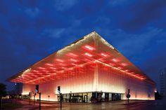 Willy Meyer+Sohn GmbH+Co. KG - Lichttechnische Spezialfabrik - K:fem Opera House, Louvre, Architecture, Building, Travel, Projects, Voyage, Trips, Buildings