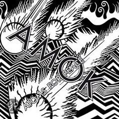 February 25 will see Atoms for Peace - a collaboration between Radiohead frontman Thom Yorke and the band's producer Nigel Godrich - release their debut album AMOK.Enlisting musicians Flea (Red Hot Chili Peppers, The Mars Volta), Joey Waronker (drummer. Radiohead Albums, Atoms For Peace, Xl Recordings, Album Stream, Cool Album Covers, Music Covers, Thom Yorke, Pochette Album, Home