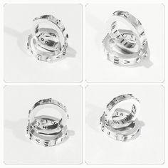 #Argollas de #matrimonio de #Plata, impresión 3D y acabado a mano, diseño exclusivo con #simbologia / Silver #wedding #rings, 3D printing and hand finished, #symbology design, #hechura