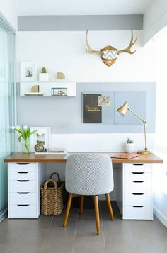 21 IKEA Desk Hacks for the Most Productive Workspace *Ever* – Brit + Co