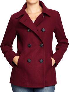 Women's Wool Peacoat - Black | Beauty | Pinterest | Wool, Women& ...