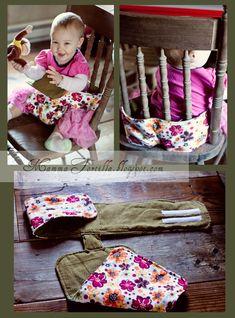 Fabric Travel High Chair