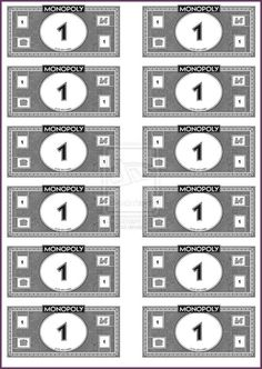 Insane image intended for monopoly money printable