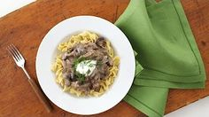 Slow Cooker Beef Stroganoff - Everyday Food with Sarah