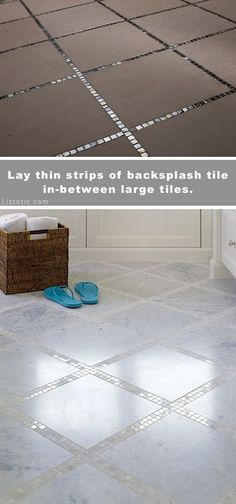Beautiful and creative tile ideas for kitchen back splashes master bathrooms small bathrooms patios tub surrounds or any room of the house! Beautiful and creati Home Renovation, Home Remodeling, Bathroom Renovations, Kitchen Remodeling, Boho Dekor, Tub Surround, Master Bathrooms, Small Bathrooms, Tile For Small Bathroom