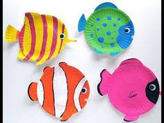 Tropical Reef Fish are fun animal crafts for kids that are great as summer activities for kids or classroom crafts for decorating during a lecture on the ocean. Dive into crafts for kids with these amazing tropical fish made from paper plates. Ocean Kids Crafts, Paper Plate Crafts For Kids, Summer Crafts For Kids, Fish Crafts, Summer Activities For Kids, Craft Projects For Kids, Paper Crafts, Craft Ideas, Kids Fun