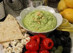 Recipe: Bright Green Edamame Hummus | PCC Natural Markets #appetizers #partyfood