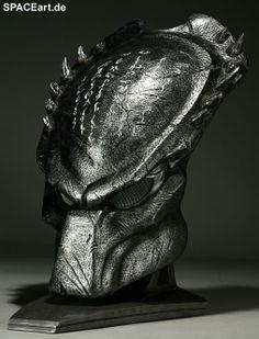 Alien vs. Predator: Wolf Predator Helm, Fertig-Modell, http://spaceart.de/produkte/avp003.php