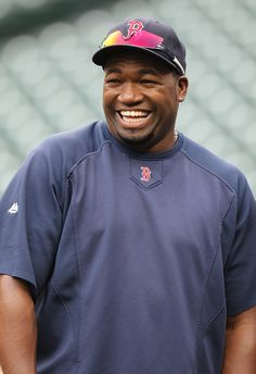 david ortiz | David Ortiz David Ortiz #34 of the Boston Red Sox smiles during ...