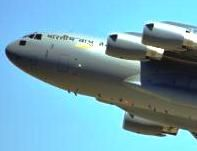 Defence Minister AK Antony will formally induct world's biggest and versatile military transport aircraft C-17 Globemaster-III in the kit of Indian Air Force (IAF) that will strengthen the defence arms. This will be the third aircraft to be inducted in IAF service as India has already received two such aircrafts in June and July this year. US made this aircraft is capable of carrying 77-tonne of armaments and goods to remote areas and can land on rough and unprepared surfaces.