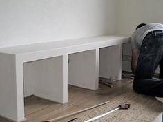 Bekijk de foto van Marielletk met als titel kast gemaakt van betonblokken. en andere inspirerende plaatjes op Welke.nl.