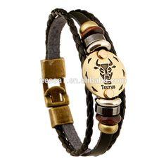 12 Zodiac Sings Genuine Mens Leather Bracelet Wholesale Pkbr-0001 , Find Complete Details about 12 Zodiac Sings Genuine Mens Leather Bracelet Wholesale Pkbr-0001,Leather Bracelet,Mens Leather Bracelet,Genuine Leather Bracelet from Zinc Alloy Jewelry Suppl