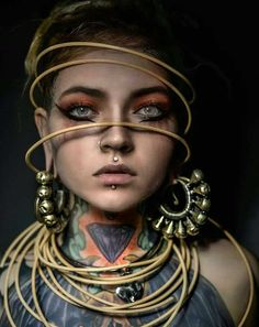 26 Ideas For Piercing Oreja Mujer Tragus Fantasy Inspiration, Portrait Inspiration, Character Inspiration, Portraits, Portrait Art, Female Portrait, Girl Face, Woman Face, Photoshop