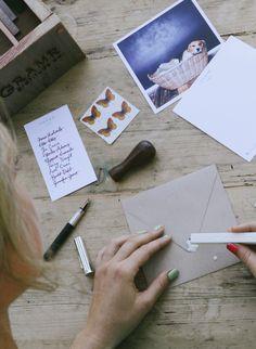 White Sealing Wax! | Get it: https://gramr.us/shop/accessories/envelope-sealing-wax/