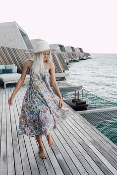 We made it to the Maldives! We are staying at the new St. Regis Vommuli resort for a few days and so far it is incredible! It's so beautiful here!