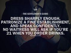 #TheGentlemanGuide #8