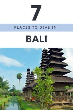 Bali Diving - Are you planning to go scuba diving in Bali. here is some of the best diving sports in Bali to go Scuba diving. | 7 Best Places To Dive in Bali That You Will Not Forget | scuba diving | scuba travel  | South East Asia Backpacking | SE Asia | Bali Travel  #Bali #Indonesia #ScubaDiving #Island #Travel #TravelBlog #asianwanderlust