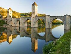 Le Pont du Diable, Cahors, France