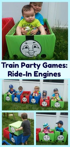 Thomas+The+Train+Engine+and+Friends+Ride+In+Toys+-+Perfect+Train+Party+Games+these+easy+DIY+Train+engines+will+have+the+kids+playing+for+hours.++Easy+to+make+for+a+train+birthday+party+or+anytime+as+an+activity+to+keep+the+kids+busy.++Every+Thomas+the+tank+engine+fan+will+love+them,  Thomas+the+train+party+idea,+thomas+the+tank+engine+party+idea,+thomas+the+train+party+game+ideas,+thomas+the+tank+engine+party+game+ideas,+train+party+game+ideas+via+@LittleMissKate