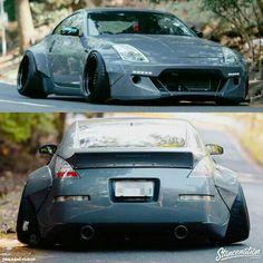 Super Stanced Nissan - A little too much camber for my taste. Lamborghini, Bugatti, Ferrari, Slammed Cars, Jdm Cars, Stance Nation, Porsche, Street Racing Cars, Auto Racing