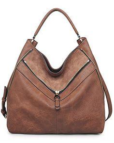 Urban Expressions Sawyer Hobo Handbag (Saddle) Urban Expr…
